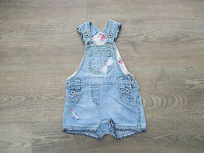 **age 3-6 Months Denim Dungarees From Next, Dragon Fly With Sequins (B)**