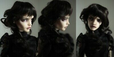 colour & style choice wig for bjd doll 6-7'' msd 1/4 1/6 size