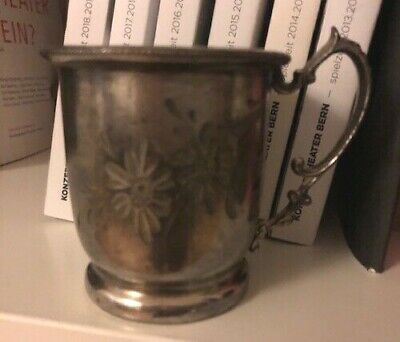Cup silver plated, antique