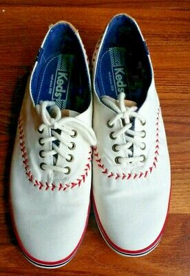 251b5ee13f5 KEDS Womens BASEBALL STITCHING Size 8 CHAMPION Canvas Sneakers SHOES ~ FREE  SHIP
