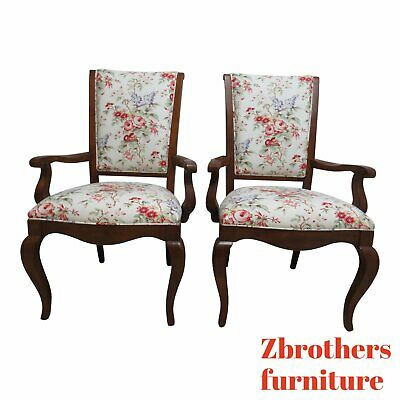 Ethan Allen Country French Legacy  Maison Dining Room Arm Chairs