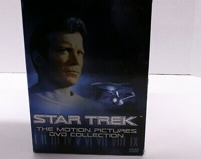 Star Trek - The Motion Pictures DVD Collection 9 DVD's 5 Unopened
