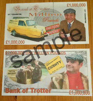 Only Fools & Horses 1 Million Pound Bank Note Birthdays Etc Banknote £1,000,000