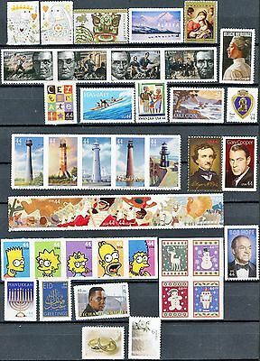 2009 Commemorative Year Set 41 Different MNH US Stamps See Scott #'s in Listing