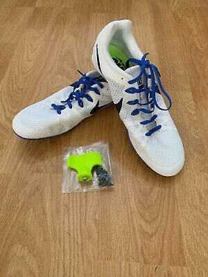 a5c99c6af1f Men Nike Zoom Rival M8 Track Field Spikes Shoes Size 9.5 White 806555-100