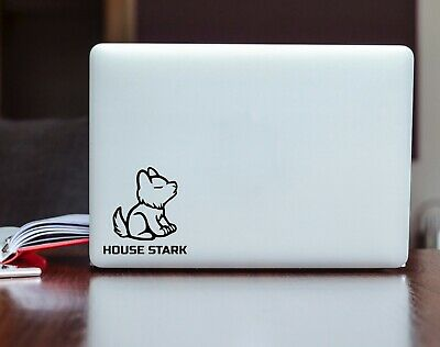 Game of Thrones House Stark Baby Wolf Vinyl Decal Car Bumper Laptop Sticker