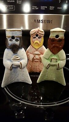 Three Wise Men *Kings Puerto Rican *Christmas Ornaments *Ethnic Puerto Rico