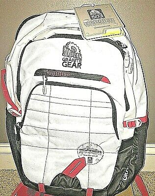 563aceeb54b2 BUFFALO BACKPACK by Granite Gear Color White Barrier Water Repellent $120  new