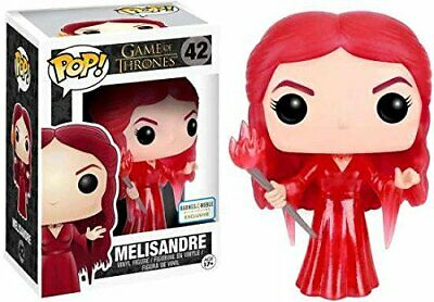 Funko POP Game of Thrones MELISANDRE TRANSLUSCENT EXCLUSIVE RED WOMAN PRIESTESS