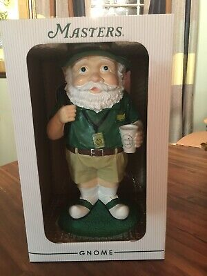 2019 Masters Golf Tournament Garden Gnome Patron Badge Cup Limited Edition Rare.