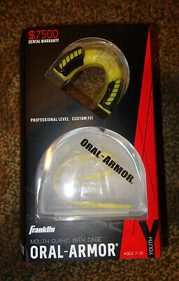 Franklin Oral-Armor Green Multi-Sport Detachable Mouth Guard    Youth