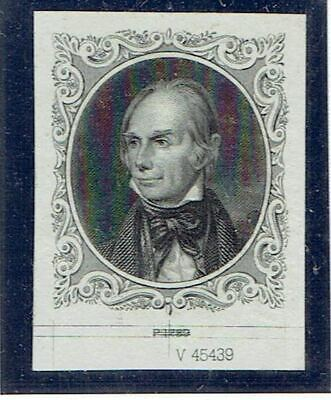 American Banknote Co    'Henry Clay'   Vignette Proof on India 1800s