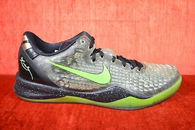 sale retailer 9fd2c e0bad WORN ONCE Nike Kobe 8 VIII System SS Christmas Black Green Size 11  639522-001