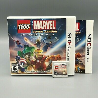 LEGO Marvel Super Heroes - Universe in Peril ~ Complete for Nintendo 3DS