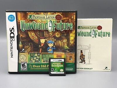 Professor Layton and the Unwound Future ~ Complete for Nintendo DS