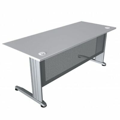 Ready 2 Go cSPACE Desks 2 Cable Holes Top - Assorted Colours and Dimensions