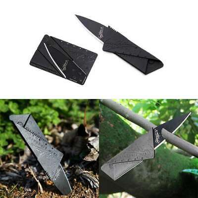 New 1-5Pcs Cardsharp Credit Card Folding Razor Wallet Knife Survival Outdoor