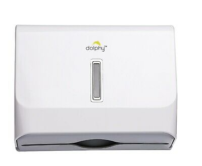 Dolphy Multifold Hand Towel Paper Dispenser - White