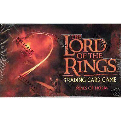 LORD OF THE RINGS TCG - Mines of Moria Booster Card Box (Decipher Inc.) #NEW