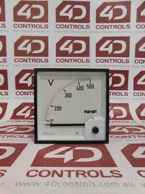 IME RQ96E (AN35DDC500N) Voltmetter 0 to 500V - New