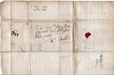King Charles II -1684  Bishops mark- Receivers initial N.O William Nott - Earle