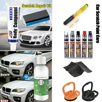 Cars Scratch Paint Care Body Compound Polishing Scratching Paste Repair Tool New