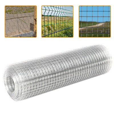 Galvanized 5-50m PVC/Metal Coated Poultry Netting Welded Wire Chicken Fence Mesh
