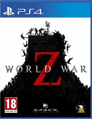 World War Z (PS4)  BRAND NEW AND SEALED - IN STOCK - QUICK DISPATCH