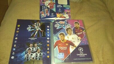 Topps Crystal champions league 2019. Full set album + cards
