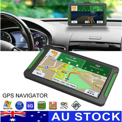 "7"" 8GB Truck Car GPS Navigator Navigation System Sat Nav Lifetime Free AU Map AU"