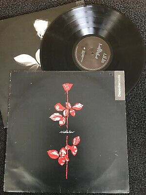 Depeche Mode - Violator Vinyl LP Pic/Lyric Inner Mute Stumm 64 1990 1st Press EX
