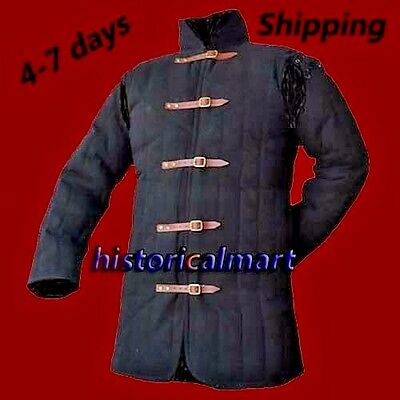 Birthday Gift beautiful Medieval thick padded  Gambeson coat chainmail  Armor