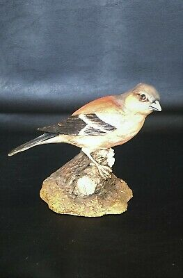 Vintage Hand Painted Chaffinch Ornament by Country Artists