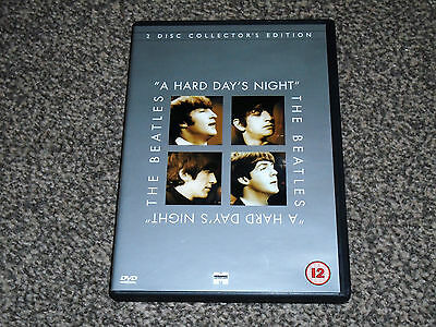 The Beatles : A Hard Day's Night - 2 Disc Collector's Dvd - In Vgc (Free Uk P&P)