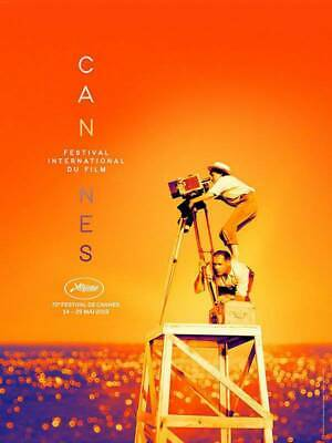 "Cannes Film Festival 2019 Poster International Event Print 24x36"" 27x40"" 32x48"""