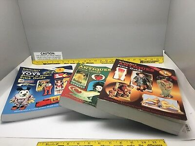 Schroeder Antiques Toys 3 Guide Older Dusty Clean Reference Guide Soft Books Mix