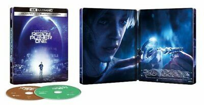Ready Player One - Limited Edition Steelbook (4K UHD, Blu-Ray) 883929641697