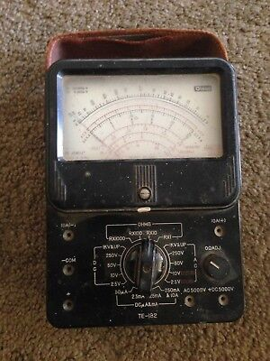 Vintage  Olson  Ohms Volts Meter  made in japan
