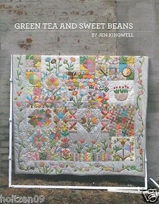 Green Tea and Sweet Beans Quilt Pattern Jen Kingwell Designs Moda JKD 5002