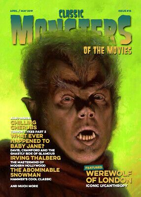 Classic Monsters Magazine Issue 15: Horror Film and Horror Movie Magazine