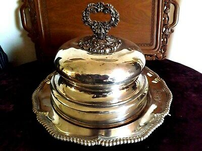 SUPERB Large ~ SILVER Plated  SERVING DISH ~ c1910 Tiffany  & co