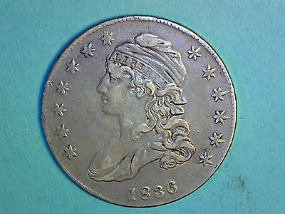 Capped Bust Half Dollar - 1836 - KM#37