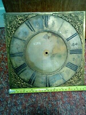 GRANDFATHER CLOCK DIAL. Chamberlain of Hertford