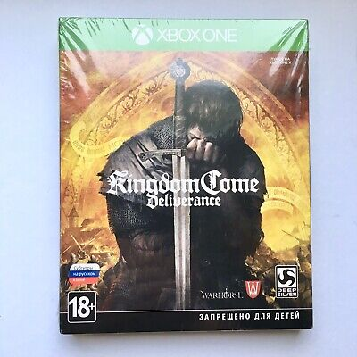 Kingdom Come: Deliverance Xbox One SteelBook Special Edition Brand NEW RARE