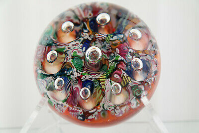 Paul Ysart Harlequin -Harland Glass - Paperweight