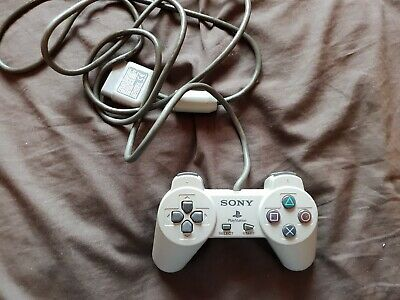 Official Sony Playstation 1 Controller Grey PS1