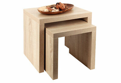 2 Table Set Sonoma oak German Manufacturing Coffee Table,Side Table
