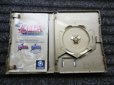 The Legend of Zelda Wind Waker Limited Edition -   NO GAME CASE ONLY!!!!!!