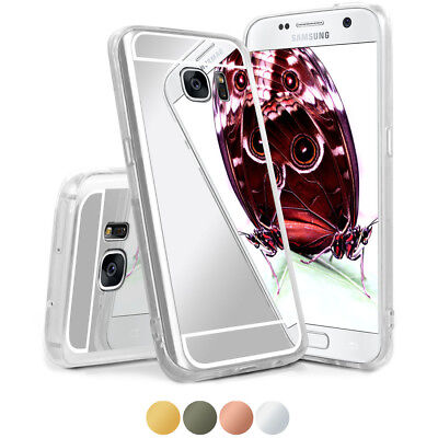 Mirror Case for Samsung Galaxy S7 Back Cover Hard Case Mirror New