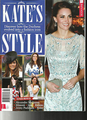 Kate's Style Magazine #5 2017,Discover How The Duchess Evolved Into Fashion Icon